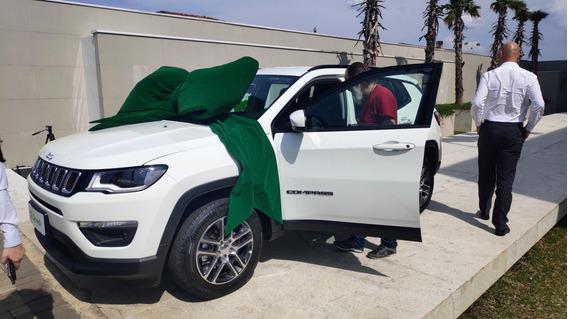 Jeep Compass 2.0 Sport - Carro De Sorte, Ganho Em Sorteio!