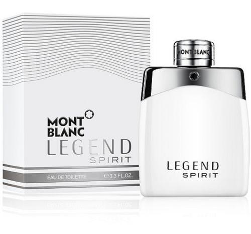 Perfumes Loción Mont Blanc Legend Spir - mL a $950