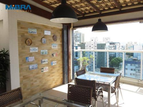 Cobertura 3 Quartos Em Jardim Camburi - Co0130