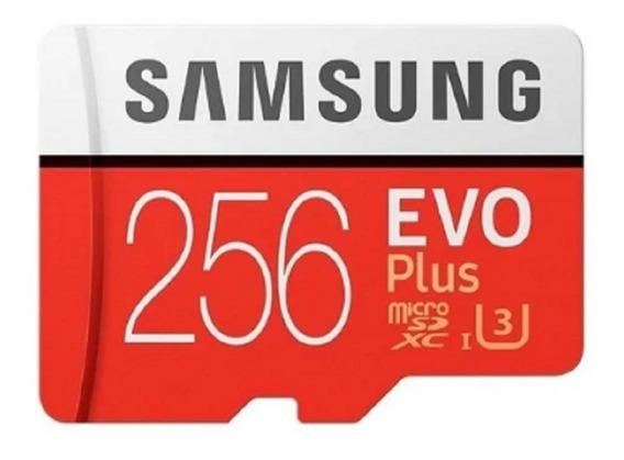 Cartão De Memória Samsung Mb-mc256ga/apc Evo Plus Com Adapta