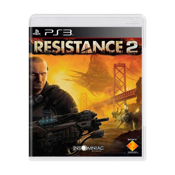 Resistance 2 Ps3 Mídia Física Pronta Entrega