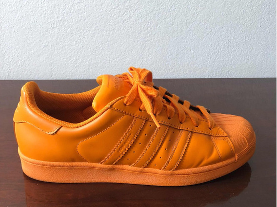 Tênis adidas Pharrell Williams Supercolor (laranja)