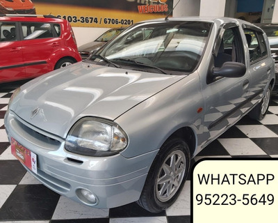 Renault Clio 1.0 16v Rt 5p 2002 Completo