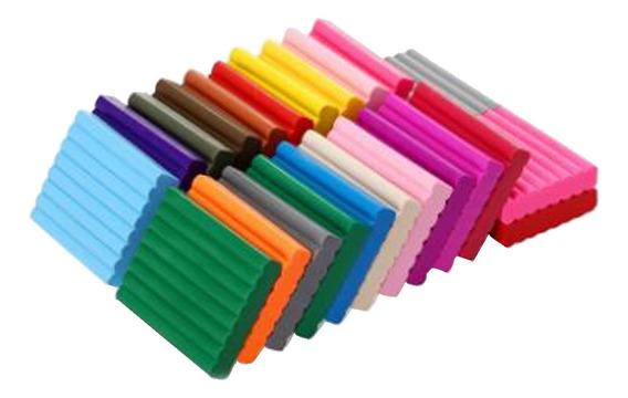 24 Colores Suave Polímero Bloques De Arcilla Diy Modelado