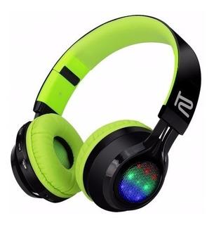 Audífonos Estéreo Bluetooth Klip Xtreme Khs-660 Microsd/ Led