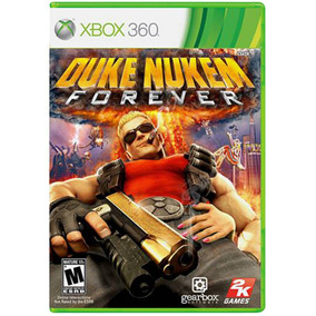 Duke Nukem Forever Xbox 360 Original Completo Mídia Física