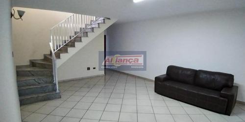 Sobrado Comercial Para Locação, Centro, Guarulhos - Cód. So1040. - Ai5390