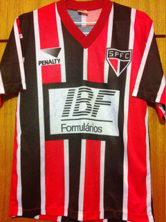 Camisa São Paulo Autografada Elenco Libertadores 1993