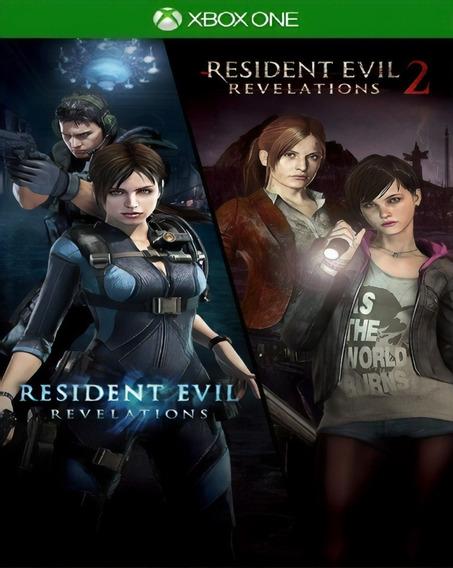Resident Evil Revelations 1 & 2 + 1 Jogo Brinde Xbox One
