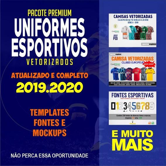 Uniformes Esportivos Vetorizados - Pacote Premium