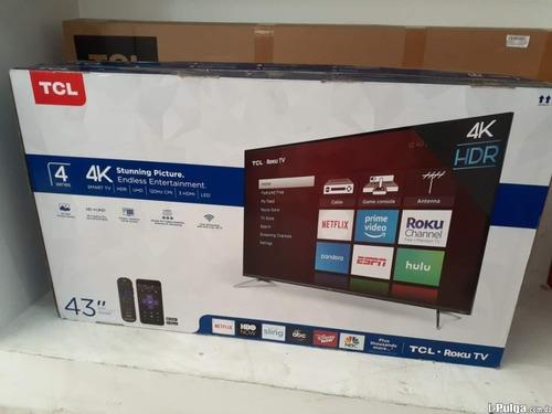 Tcl Smart Tv 4k Ultra Hd 43 Pulgadas