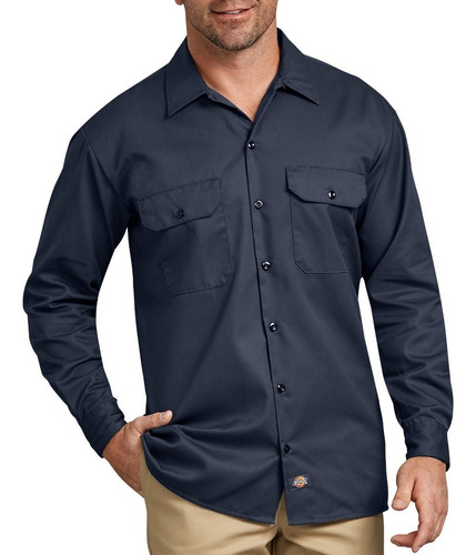 Imagen 1 de 3 de Dickies 574 Camisa Camisola Trabajo Uso Rudo Manga Larga