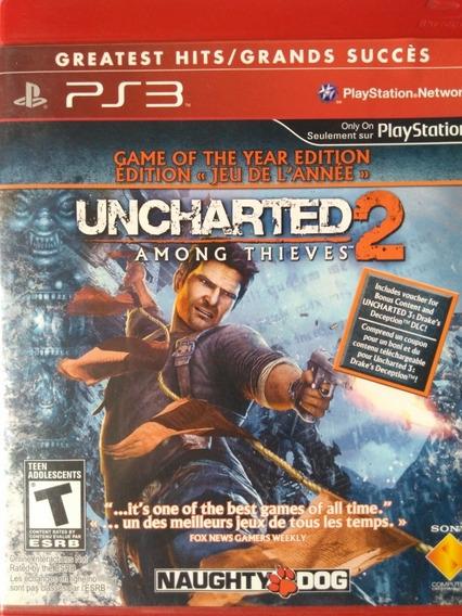 Uncharted 2 Ps3 Original , Leia A Descriçao