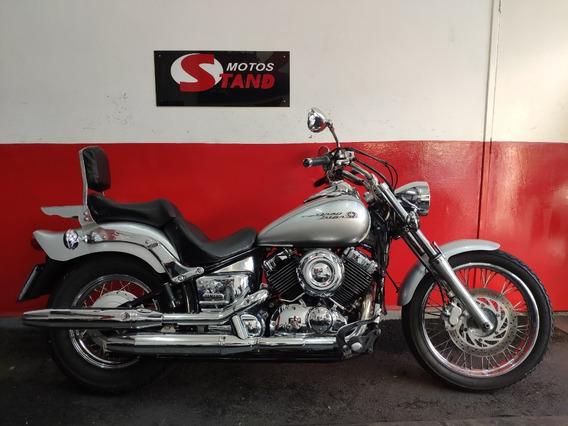Yamaha Drag Star Xvs 650 2005 Prata