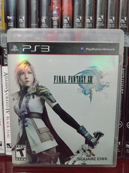 Final Fantasy Xiii Ps3 Completo   Parcelamento Sem Juros