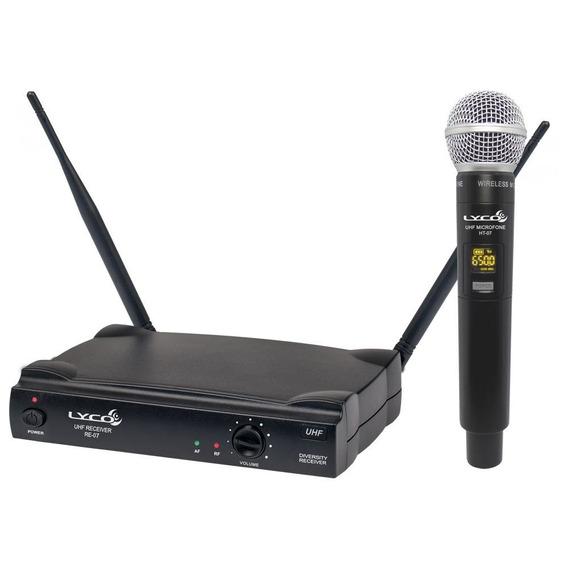 Microfone Sem Fio Uh-07m 26 Frequências - Lyco