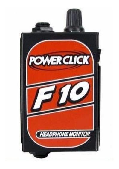 Amplificador De Fone Power Click F10 Retorno Individual