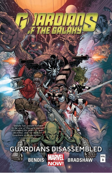 Guardians Of The Galaxy Hc Disassemble (2014) Marvel
