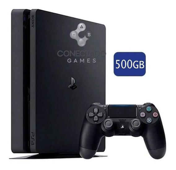 Console Ps4 Playstation 4 Hd 500gb Caixa Branca Seminovo