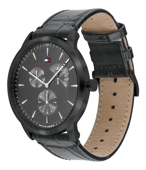 Reloj Análogo Marca Tommy Hilfiger Modelo: 1710388 Color Gri