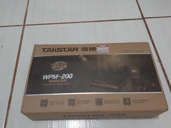 Monitor In Ear Wpm 200 Fone Wireless Takstar