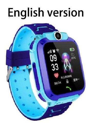 Sos Anti-pérdida De Niños Reloj Inteligente S9 Impermeable