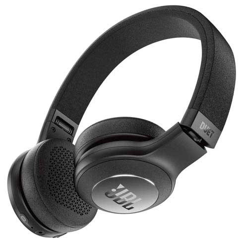 Fone De Ouvido Jbl Duet Bt Headphone Preto - Jblduetbtblk