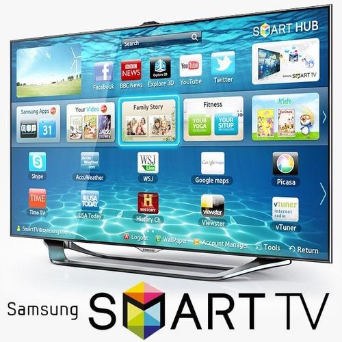 Televisores Slim Led Samsung Smart Tv 3d Es8000 46 Pulgadas