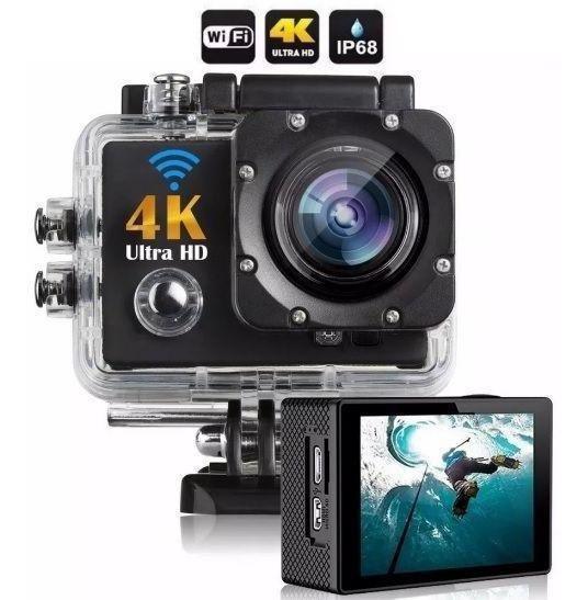 Câmera Go Sport Pro 4k Wifi Full Hd Prova D