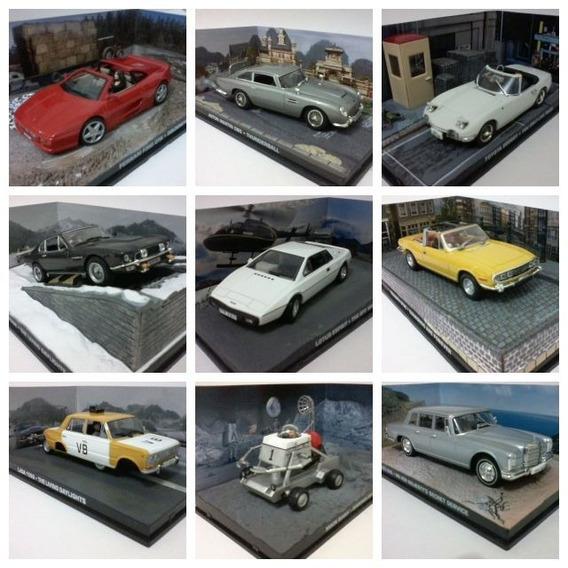 Miniaturas Coleção 007 James Bond Eaglemoss Panini 1/43 Ixo