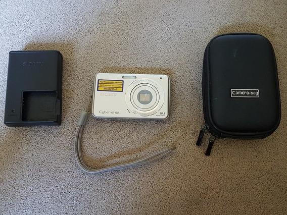 Câmera Sony Cyber-shot 10.1 Dsc-w180 Mega Pixels Original