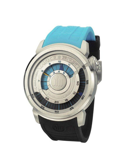 Relógio Yankee Street Masculino - Ys30167d - Cor Azul/preto