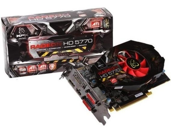 Placa Video Xfx Ati Radeon Hd 5770 1gb Gddr5 128-bit Pci-e