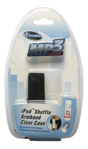 Estojo De Silicone Com Braçadeira Para iPod Shuffle 13988