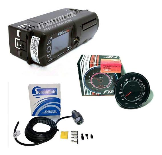 Tacógrafo Digital Fip+velocímetro Fip E Sensor Velocidade