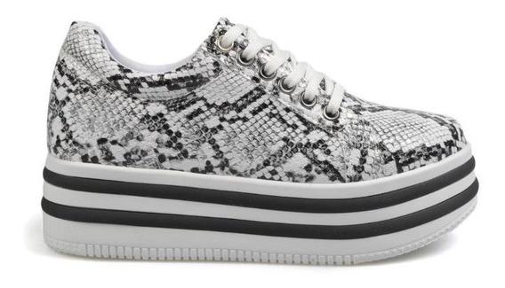 Zapatillas Mujer Urbanas Sneakers Plataforma Nk1 Savage