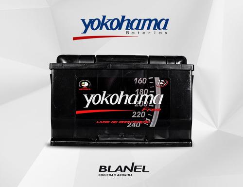 Batería Yokohama 12v 90 Amp. 18 Meses De Garantía