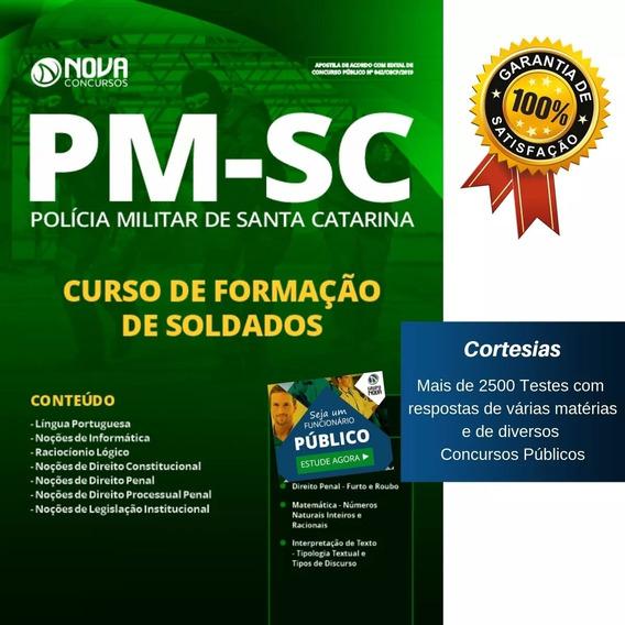 Apostila Pm Sc - Soldado Polícia Militar De Santa Catarina