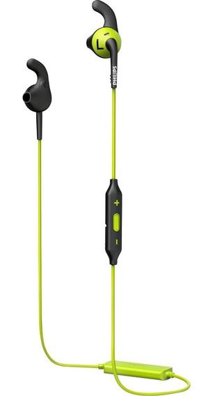 Fone De Ouvido Esportivo Sem Fio Bluetooth Tws Philips Shq6500cl/00 Original Completo