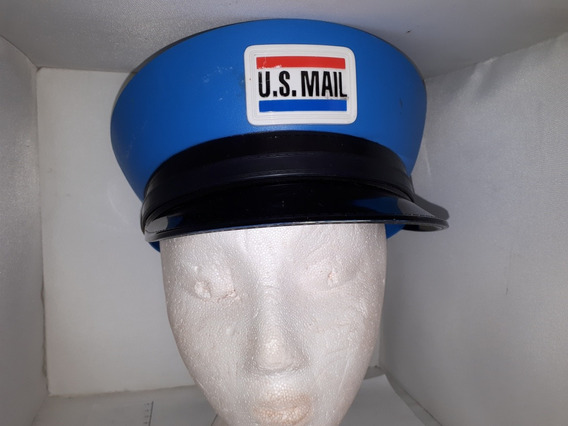 Gorra Quepi Sombrero Kepi Disfraz Cartero Niño Us Mail Kzr