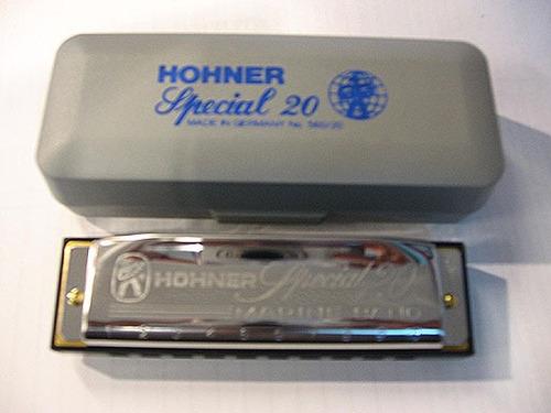 Armónica Hohner Special 20. En Clave Do (c). Nueva