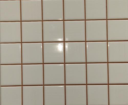Cerámica Europea 25 X 25 Mosaic Rainbow White Blanca