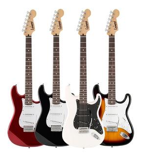 Guitarra Electrica Stratocaster Leonard 3 Microfonos Tremolo