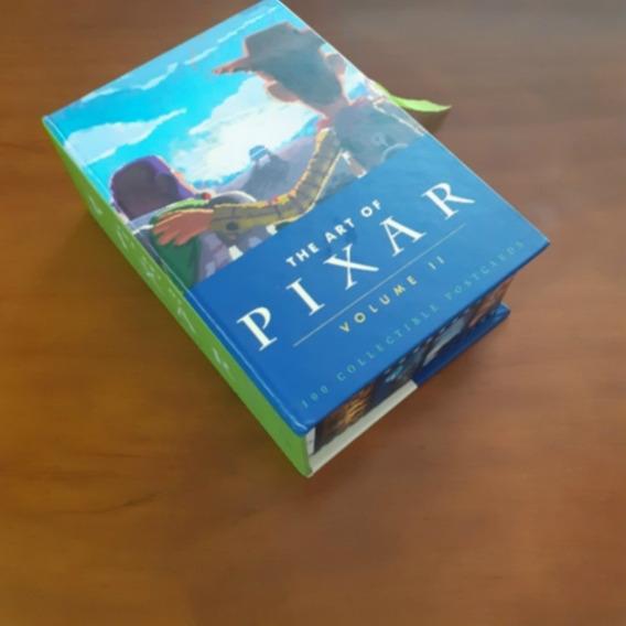 The Art Of Pixar Volume 2 - Box Com 100 Cartões Postais