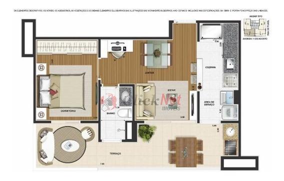 Apartamento Studio Para Venda No Bairro Anchieta Em São Bernardo Do Campo - 4658