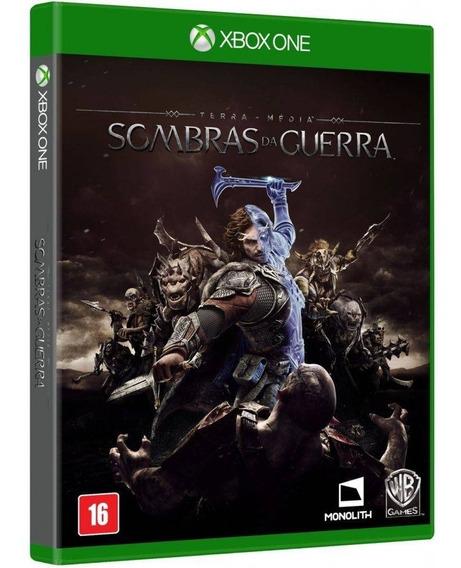 Jogo Sombras Da Guerra Xbox One Midia Fisica Novo Português