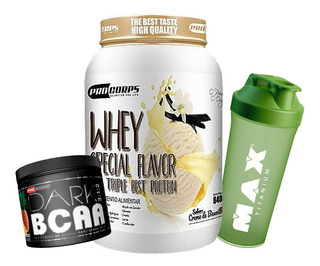 Whey Special Flavor 900gr +bcaa 150g + Brinde - Pro Corps