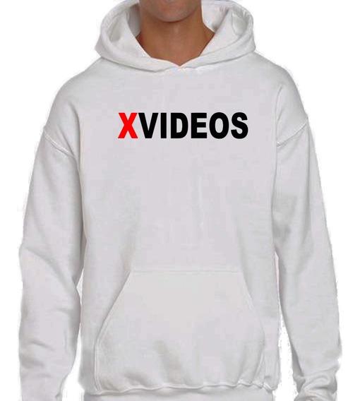 Sudadera Hoodie Con Estampado De Xvideos Unisex Algodón 100%