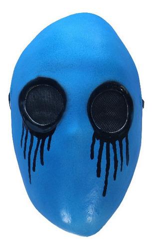 Imagen 1 de 5 de Máscara De Látex Creepypasta Blue Eyeless Halloween