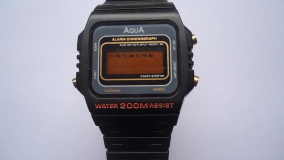 Relógio Aqua Digital Quartz Masculino